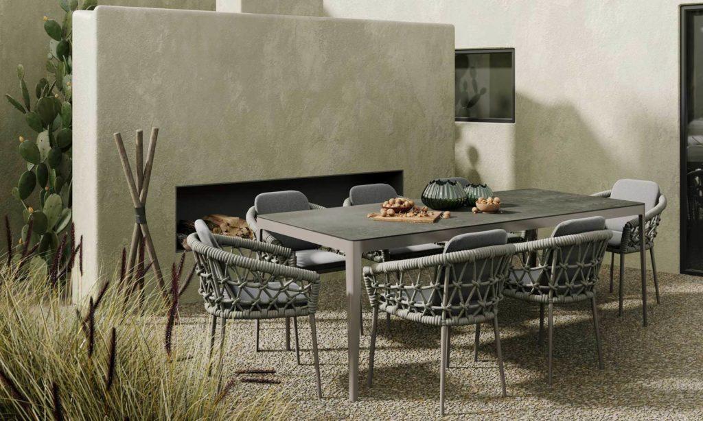 snoc outdoor bahçe masa takımı