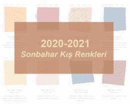 Pantone 2020-2021 Sonbahar Kış Renk Trendlerini Açıkladı