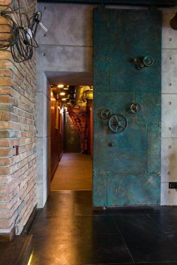 metal surgulu kapı çeşitleri