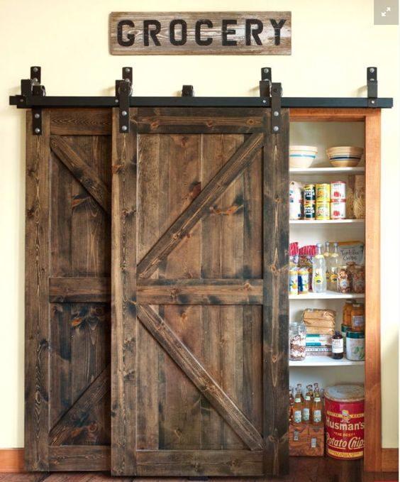rustik masif sürgülü kapı çeşitleri
